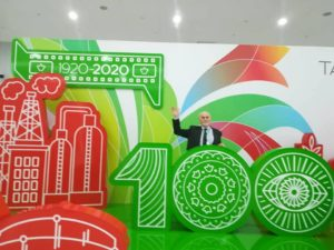 Почетный гость по случаю празднования 100-летия республики Татарстан